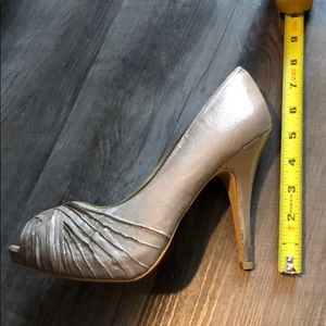 3 for $30 - Silver Lulu Townsend heels.